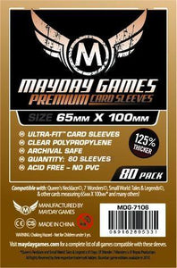 Mayday Games - Magnum Premium Card Sleeves - 65mm x 100mm (80)