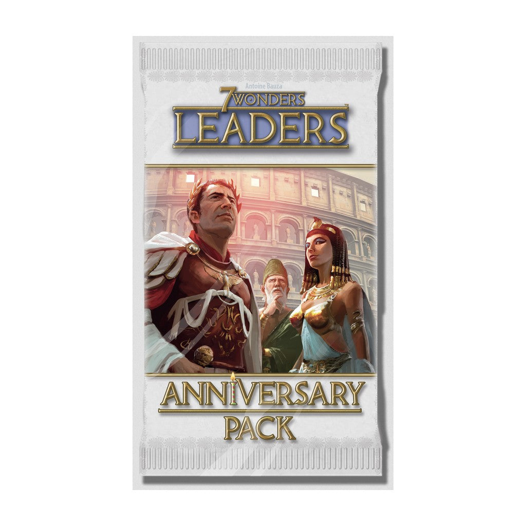 7 Wonders: Leaders - Paquet anniversaire