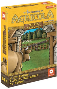 Agricola : Terres d'élevage - 2e Extention Plus de bâtiments de ferme