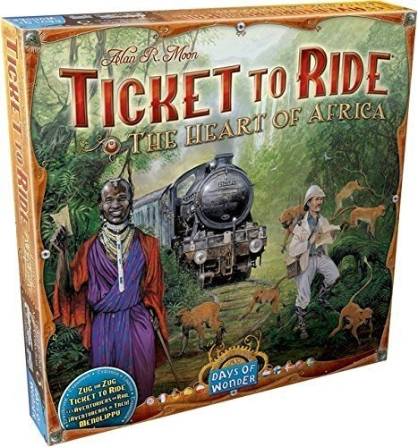 Ticket to Ride Map Collection: Vol 3 – The Heart of Africa