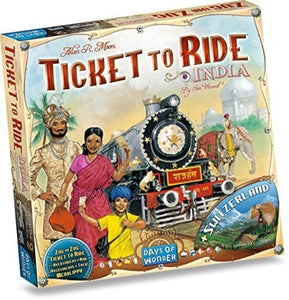Ticket to Ride Map Collection: Vol 2 – India & Switzerland