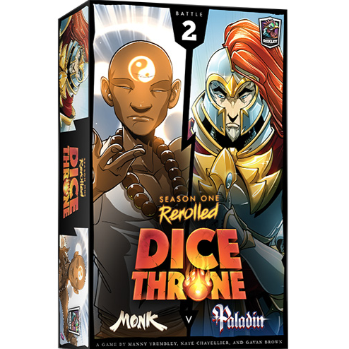 Dice Throne Season 1 ReRolled (2) - Monk VS Paladin