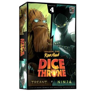 Dice Throne Season 1 ReRolled (4) - Treant VS Ninja
