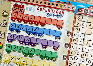 Copenhagen : Roll & Write