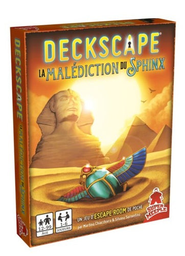 Deckscape : La Malédiction du Sphinx