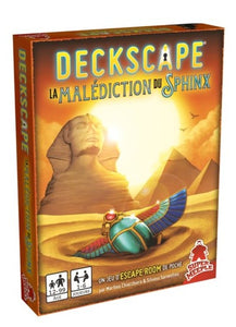 Deckscape 6 : La Malédiction du Sphinx