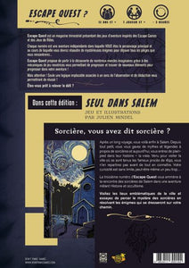 Escape Quest 3 - Seul dans Salem