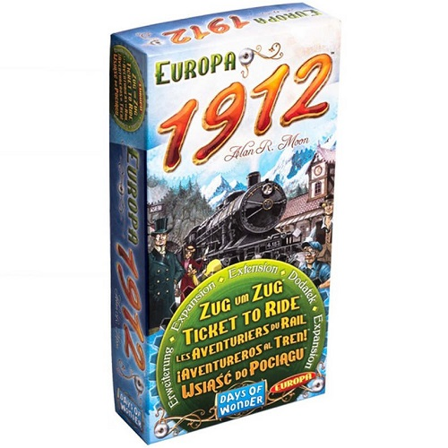 Aventuriers du Rail - Europe Extension 1912