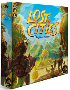Lost Cities - Le jeu de plateau