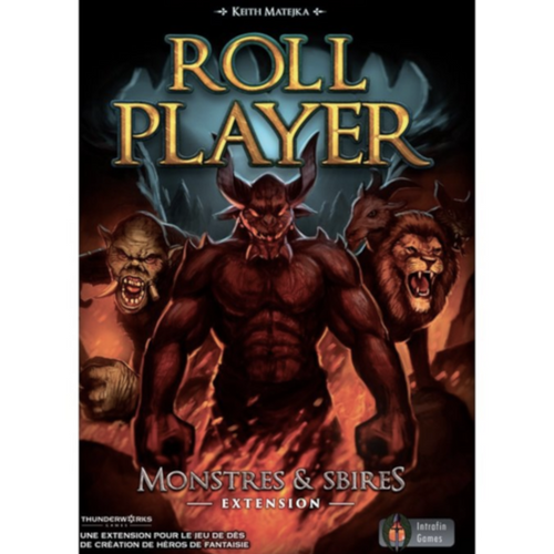 Roll Player - Extension Monstres & Sbires