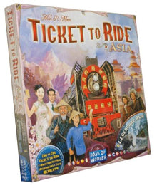 Ticket to ride Volume 1 - Team Asia & Legendary Asia LOCATION (ML)