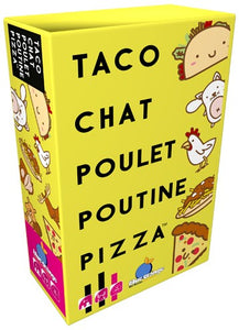 Taco Chat Poulet Poutine Pizza LOCATION (ML)