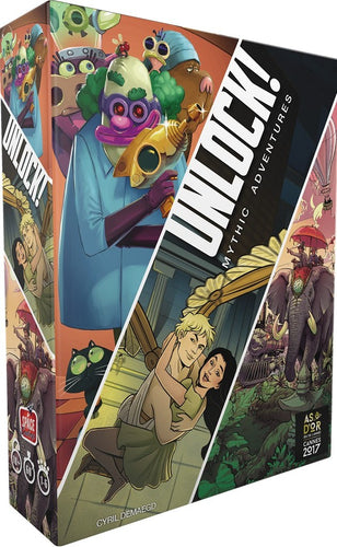Unlock! 8 - Mythic Adventures [PRÉCOMMANDE]