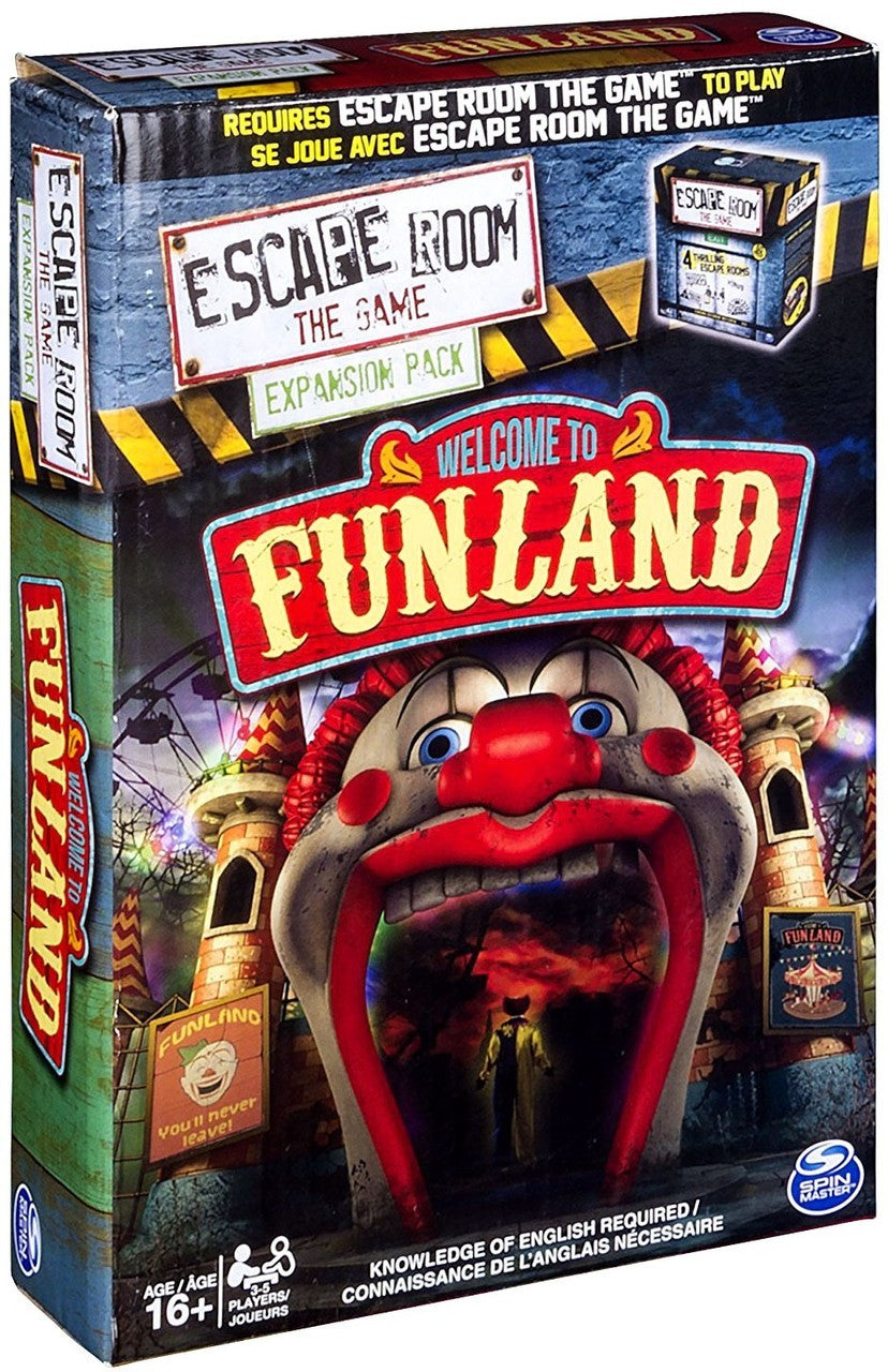 Escape Room - The Game: Welcome to Funland Expansion Pack