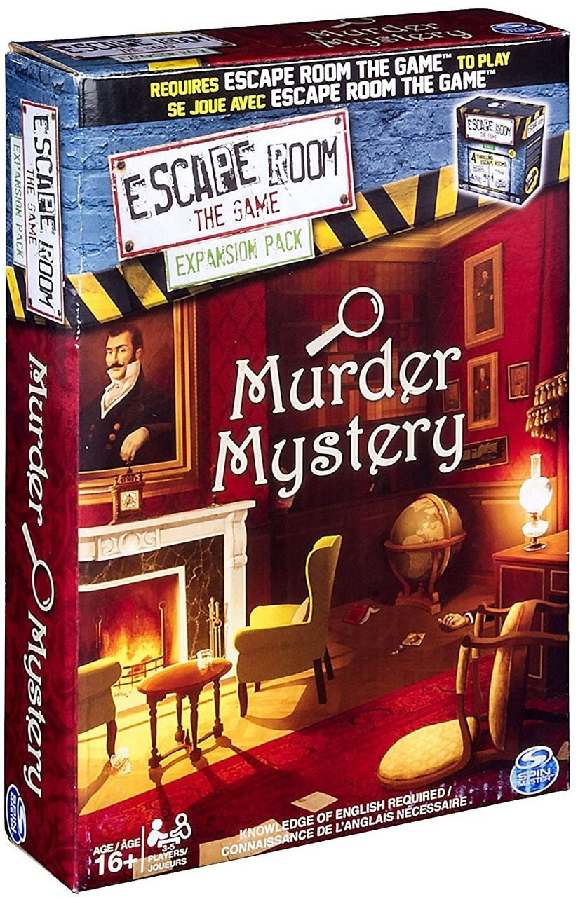 Escape Room - The Game: Murder Mystery Expansion Pack