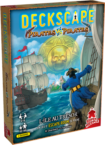 Deckscape 8: Pirates vs Pirates