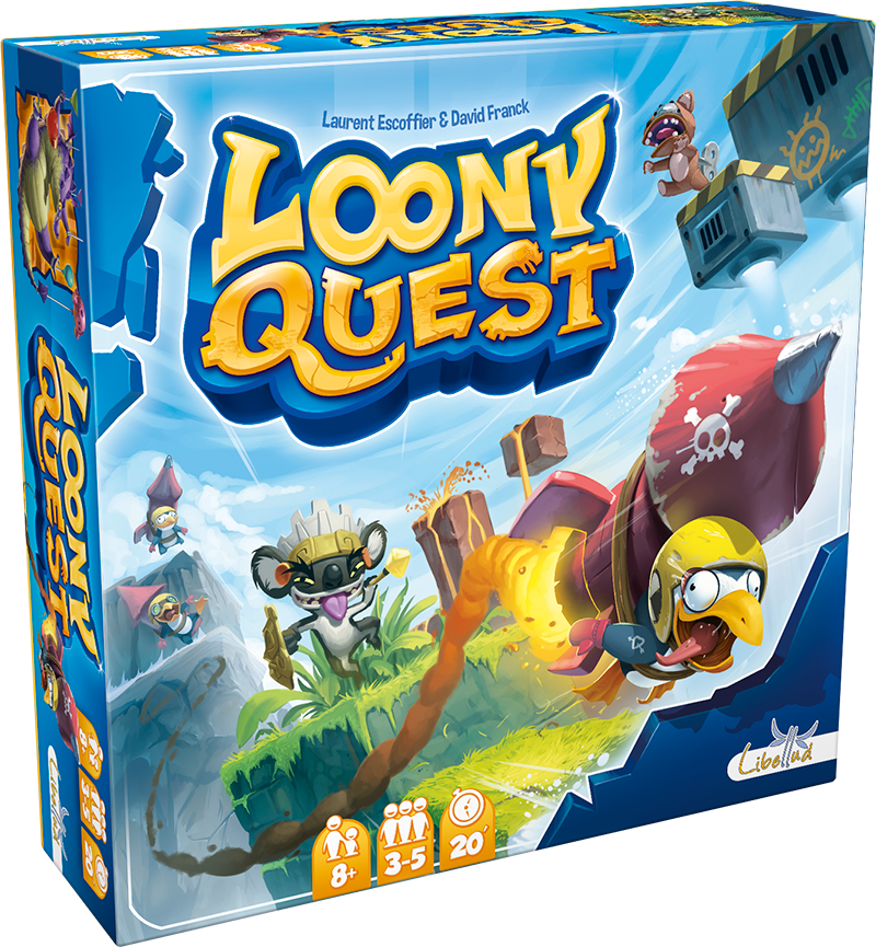 Loony Quest LOCATION (ML)