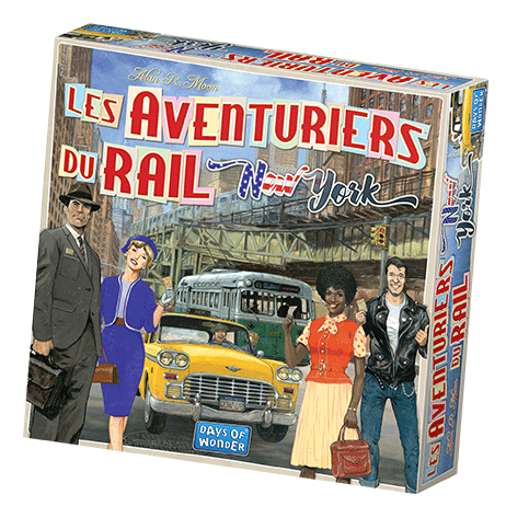 Aventuriers du Rail - New York