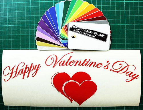 Happy Valentine's Day wall window door decoration - Worldwide Shipping