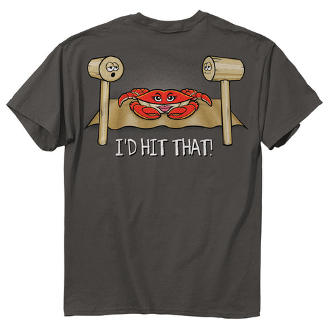 I'd Hit That Crab T-Shirt - HomeGamers