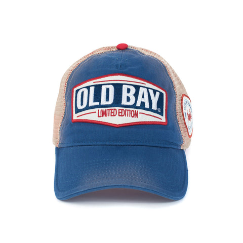 OLD BAY® Limited Edition Trucker Hat - Front - HomeGamers
