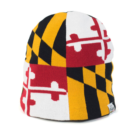 Maryland Flag Beanie - HomeGamers