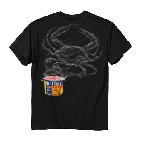 OLD BAY® Steamed Crab T-Shirt - Back - HomeGamers