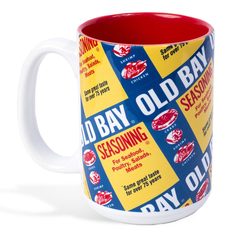 OLD BAY® Can Pattern Coffee Mug - HomeGamers