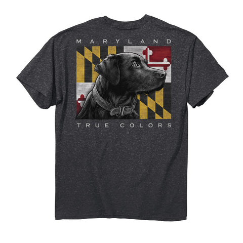 Maryland True Colors Lab T-Shirt - HomeGamers