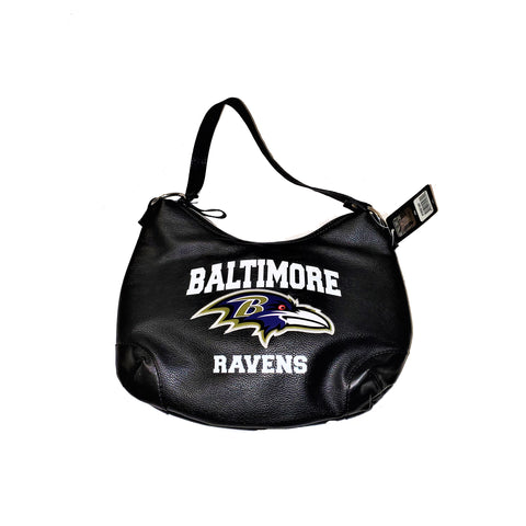 Baltimore Ravens Black Leather Purse - HomeGamers