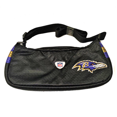 Baltimore Ravens Long Strap Black Purse - HomeGamers