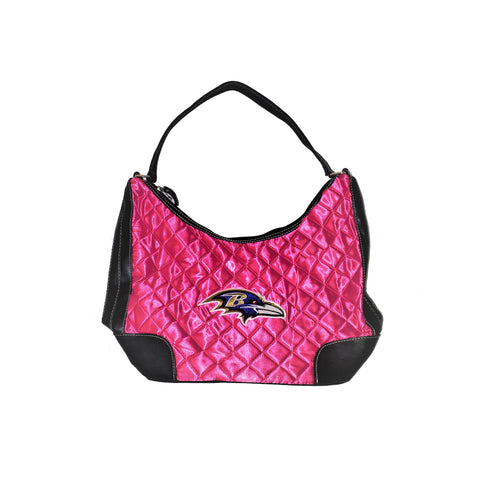Pink Baltimore Raven Purse