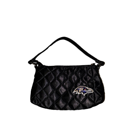 Baltimore Ravens Small Black Purse - HomeGamers