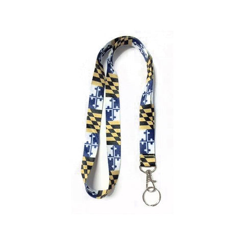 Maryland Flag Lanyard - Blue/Gold - HomeGamers