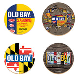 OLD BAY® Coaster Set with Tin - Set - HomeGamers