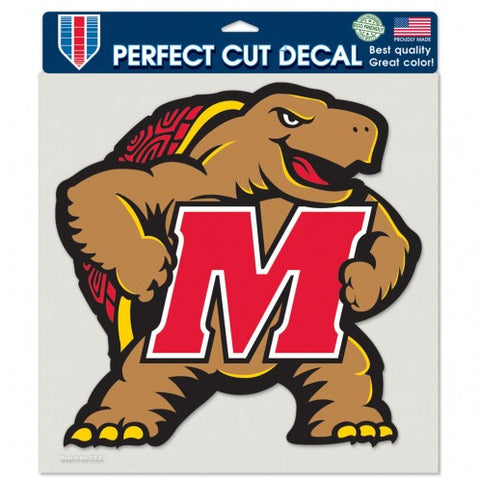 University of Maryland Perfect Cut Color Decal