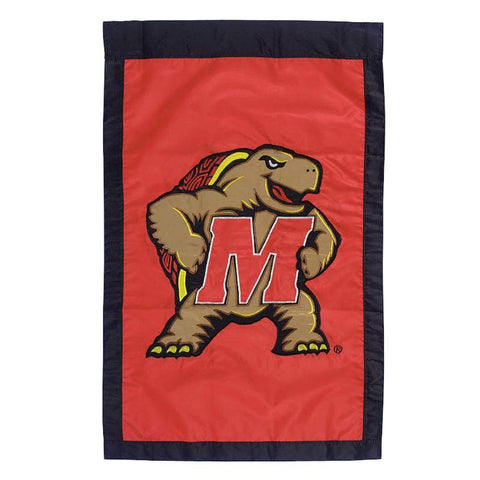 University of Maryland Applique Vertical House Flag