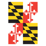 Maryland Flag Garden Flag