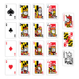 Maryland Flag Playing Cards