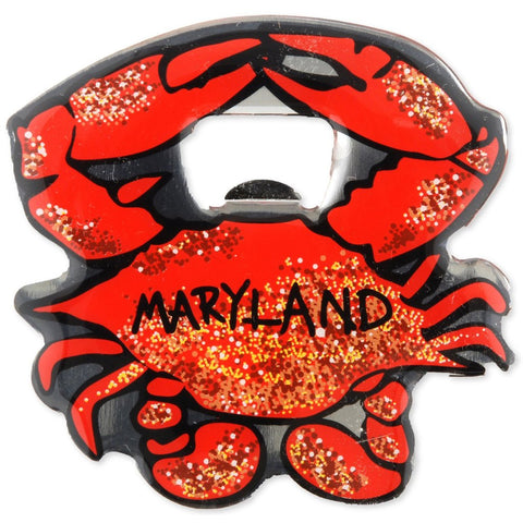 Maryland Crab Magnetic Bottle Opener