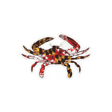 "Maryland Flag Crab Vinyl Decal - 6"" - HomeGamers"
