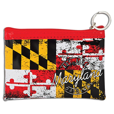 Maryland Flag Small Rectangle Purse