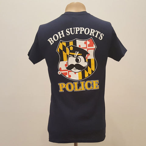 Natty Boh - Supports Police T-Shirt