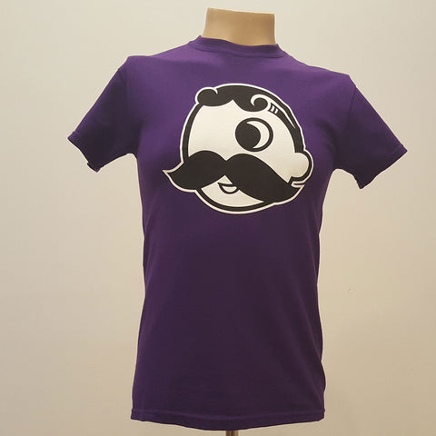 Natty Boh - Purple Boh Face T-Shirt