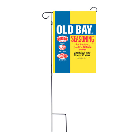 Old Bay® Garden Flag with Stand