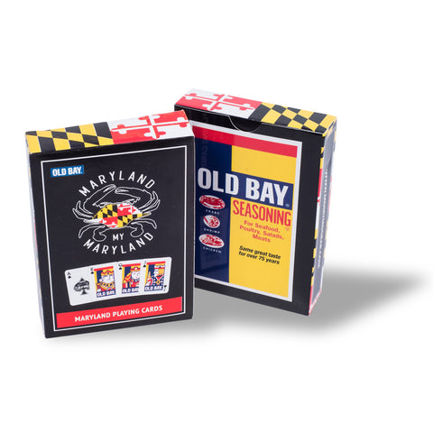 Old Bay Playing Cards Box - HomeGamers