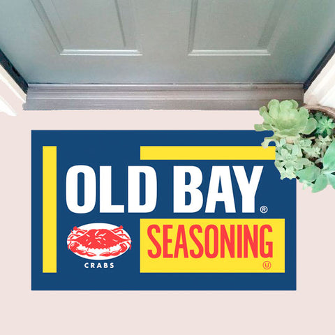 OLD BAY Door Mat with door