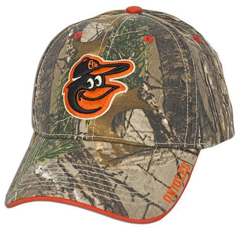 Baltimore Orioles Real Tree Camo Hat
