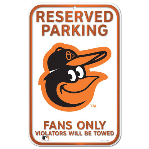 Baltimore Orioles Reserve Parking Sign
