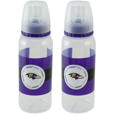 Baltimore Ravens 2-Pack 9 oz. Baby Bottles